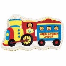 Picture of Train Chocolate Cake