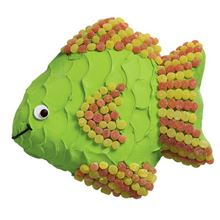 Picture of Tropical Fish Rich Fruit Cake